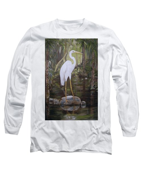 Florida Bird Long Sleeve T-Shirt