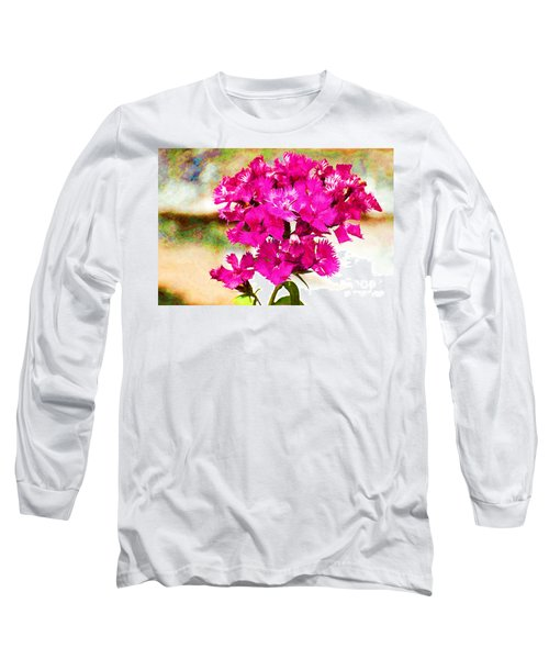 Long Sleeve T-Shirt featuring the photograph Flourish by Yew Kwang