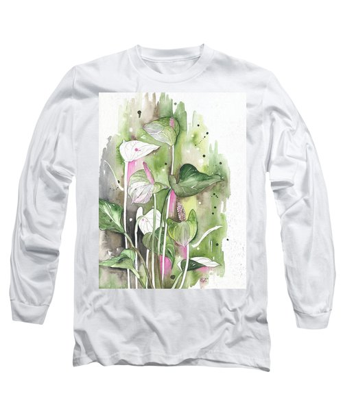 Flower Anthurium 04 Elena Yakubovich Long Sleeve T-Shirt
