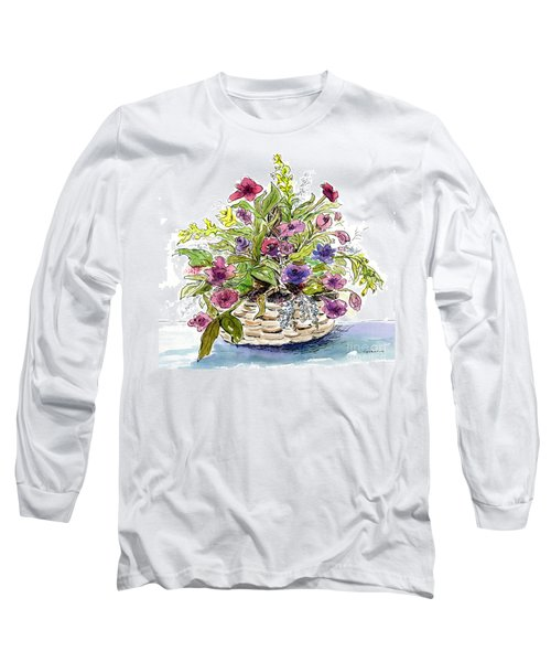 Flower Basket I Long Sleeve T-Shirt