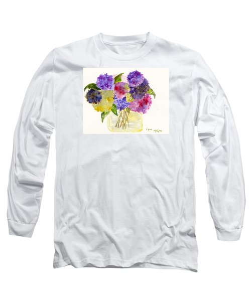 Flowers For Joyce Long Sleeve T-Shirt by AFineLyne