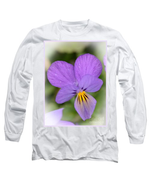 Flowers That Smile Long Sleeve T-Shirt