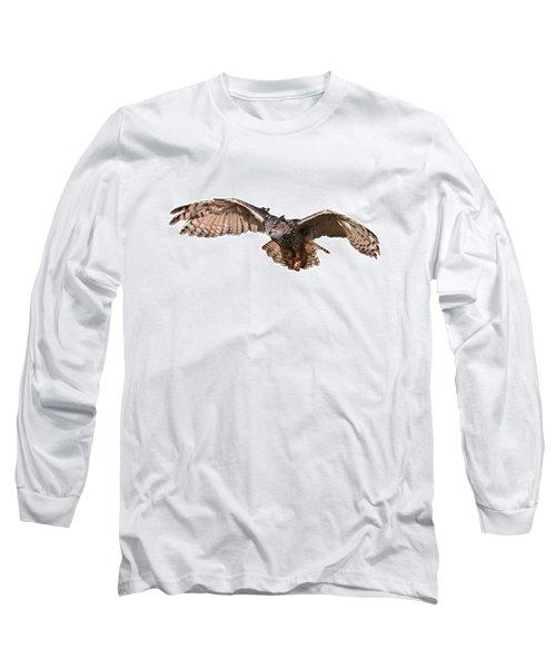 Flying Owl Long Sleeve T-Shirt