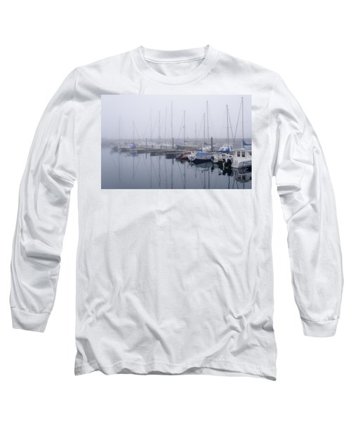 Fog In Marina I Long Sleeve T-Shirt