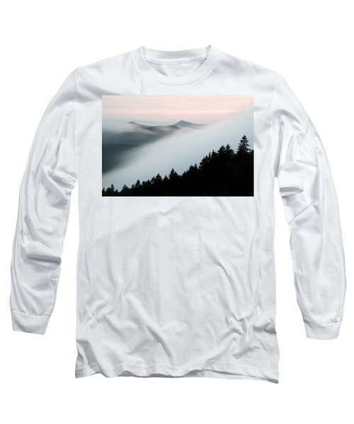 Fog On The Mountain Long Sleeve T-Shirt