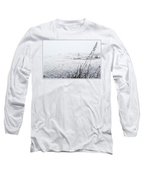 Foggy Beach Long Sleeve T-Shirt