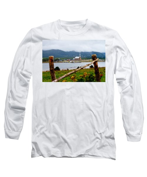 Foggy Day In Cheticamp Long Sleeve T-Shirt