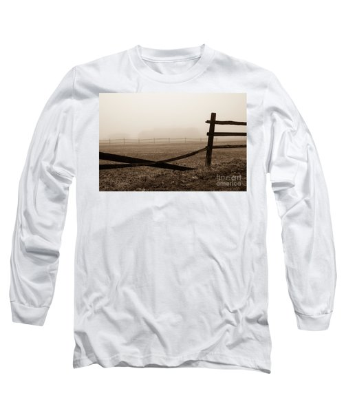 Foggy Pasture Long Sleeve T-Shirt