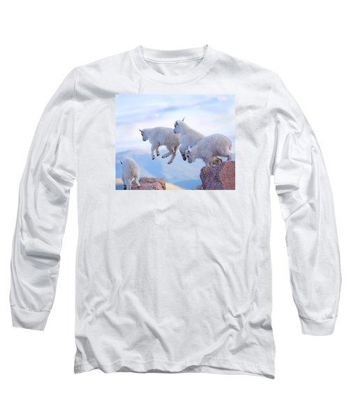Follow The Leader Long Sleeve T-Shirt by Jim Garrison