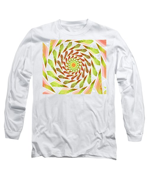 Long Sleeve T-Shirt featuring the digital art Abstract Swirls  by Ester  Rogers