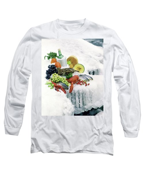 Food On Ice Long Sleeve T-Shirt