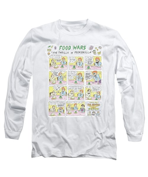 Food Wars: Thrilla In Peekskilla Long Sleeve T-Shirt