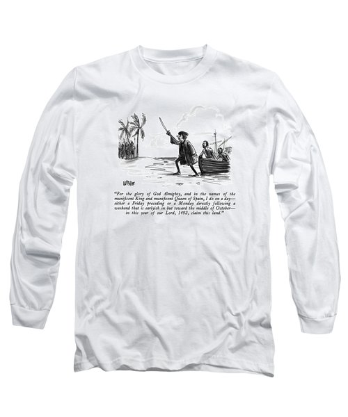 For The Glory Of God Almighty Long Sleeve T-Shirt