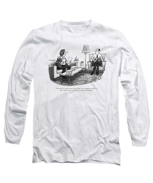 For What It's Worth Long Sleeve T-Shirt