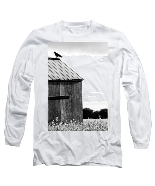 Foraging Two Long Sleeve T-Shirt by Jerry Cordeiro