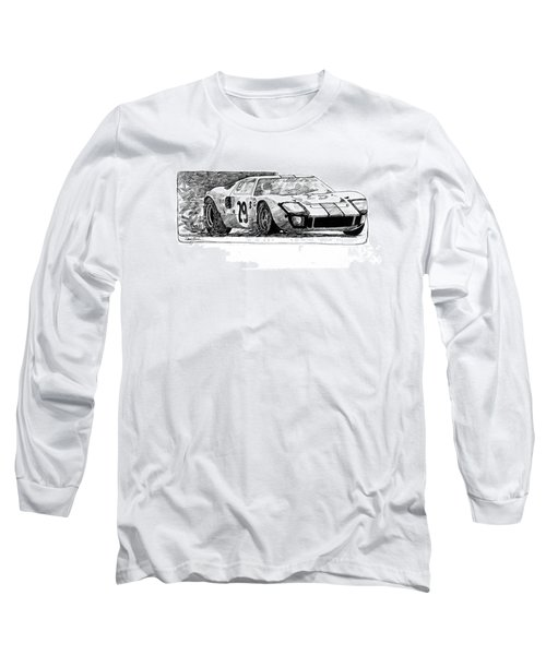 Ford Gt - 40 Long Sleeve T-Shirt