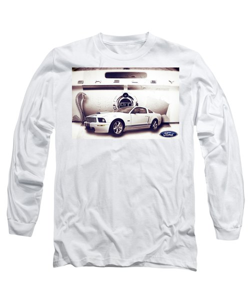 Ford Mustang Shelby Gt  Long Sleeve T-Shirt