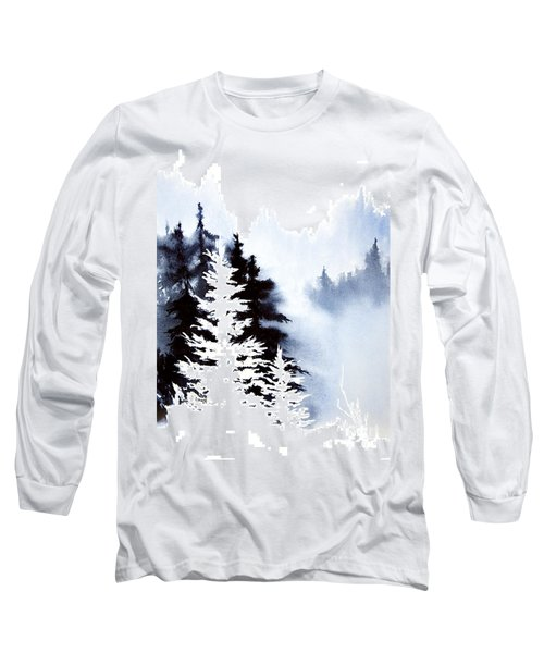 Forest Indigo Long Sleeve T-Shirt