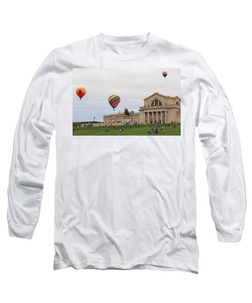 Forest Park Balloon Race Long Sleeve T-Shirt