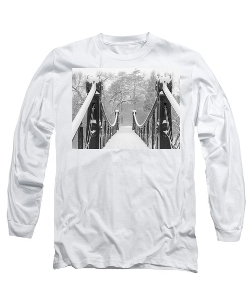 Forest Park Victorian Footbridge Long Sleeve T-Shirt