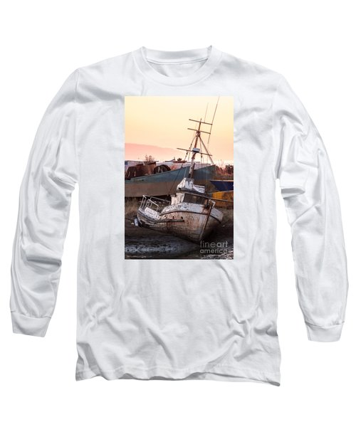 Long Sleeve T-Shirt featuring the digital art Forgotten In Homer by William Fields
