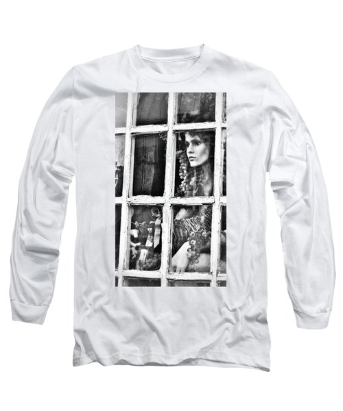 Long Sleeve T-Shirt featuring the photograph Forlorn by Jean Goodwin Brooks
