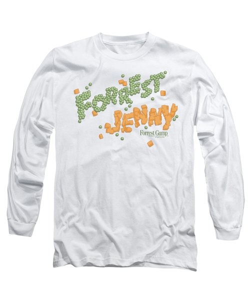 Forrest Gump - Peas And Carrots Long Sleeve T-Shirt