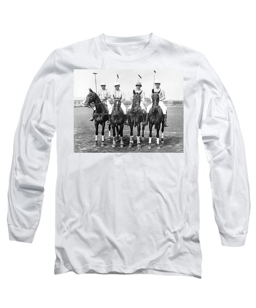 Fort Hamilton Polo Team Long Sleeve T-Shirt