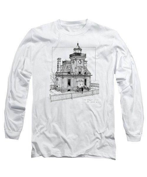 Fort Tompkins Lighthouse Long Sleeve T-Shirt