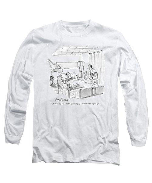 Fortunately Long Sleeve T-Shirt
