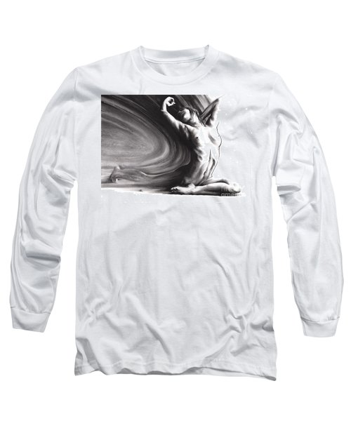 Fount Iv Long Sleeve T-Shirt by Paul Davenport