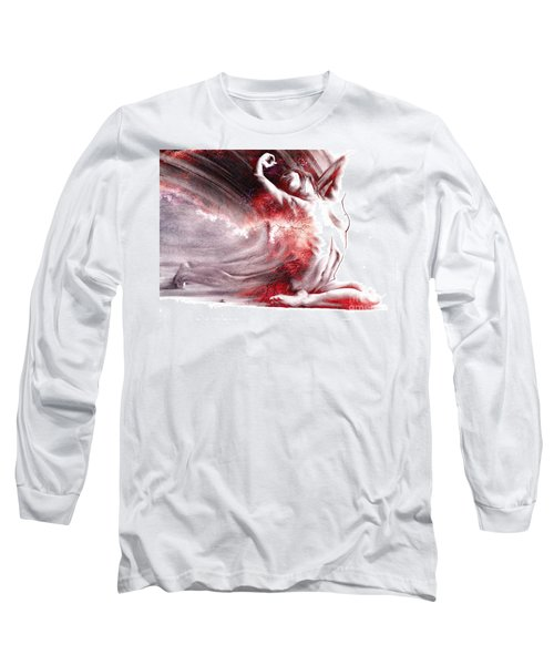 Fount Iv Textured Long Sleeve T-Shirt