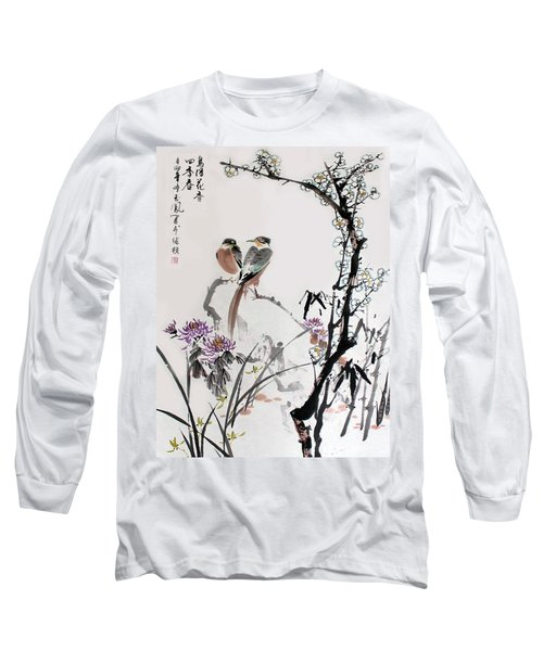 Four Seasons In Harmony Long Sleeve T-Shirt