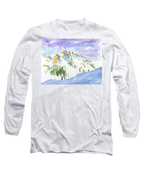 Four Sisters At Snowbasin Long Sleeve T-Shirt