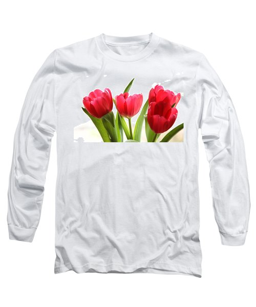 Four Tulips Long Sleeve T-Shirt