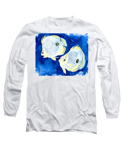 Foureye Butterflyfish Long Sleeve T-Shirt