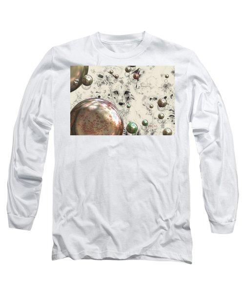 Fox Bubbles  Long Sleeve T-Shirt