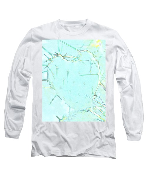 Long Sleeve T-Shirt featuring the photograph Fragile Heart by Roselynne Broussard