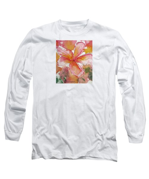 Frangipani Long Sleeve T-Shirt