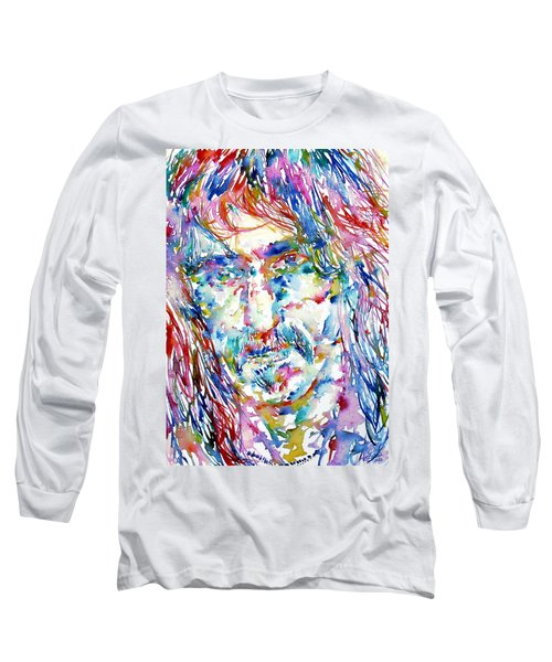 Frank Zappa  Portrait.3 Long Sleeve T-Shirt