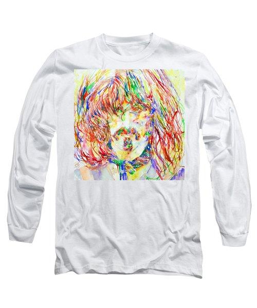 Frank Zappa Watercolor Portrait.1 Long Sleeve T-Shirt