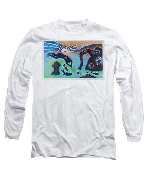 Free Man Off Of Pirates Cove Long Sleeve T-Shirt