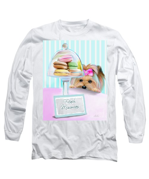 French Macarons Long Sleeve T-Shirt