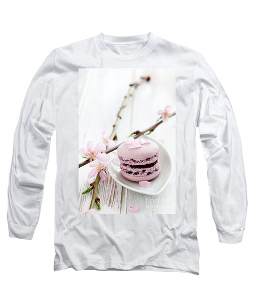 French Macaroons Long Sleeve T-Shirt