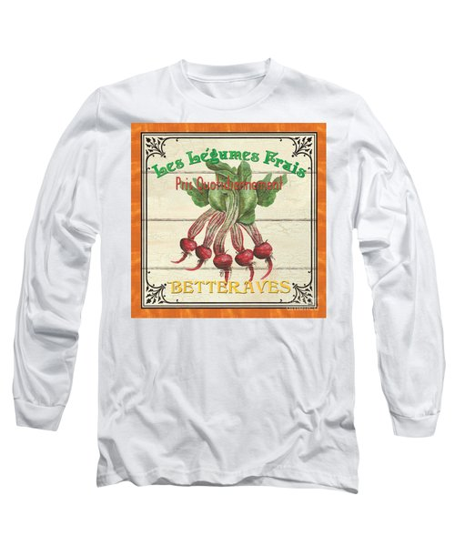 French Vegetable Sign 4 Long Sleeve T-Shirt