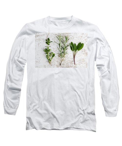 Fresh Herbs Long Sleeve T-Shirt
