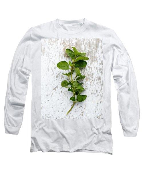 Fresh Oregano Long Sleeve T-Shirt