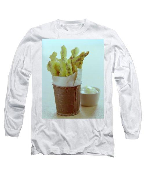 Fried Asparagus Long Sleeve T-Shirt