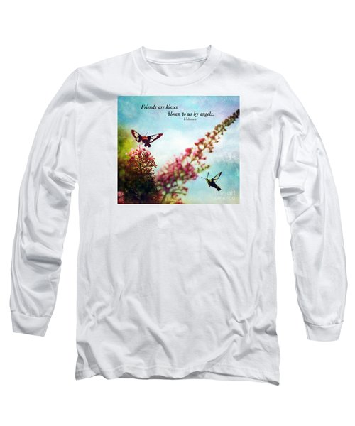 Friends Are .....  Long Sleeve T-Shirt by Kerri Farley