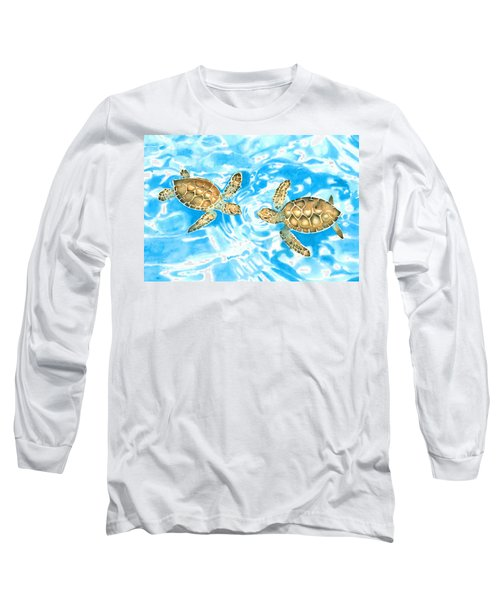 Friends Baby Sea Turtles Long Sleeve T-Shirt
